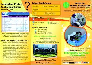 Leaflet Analis Kesehatan depan1